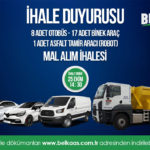 8 Adet Otobüs, 17 Adet Binek Tip ve 1 Adet Asfalt Tamir Aracı (Robot) Satın Alınması