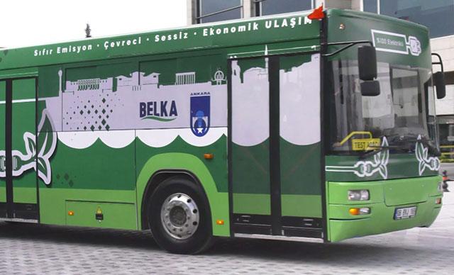 Ankara'da Dizelden Dönüştürülen Otobüs Tanıtıldı 2