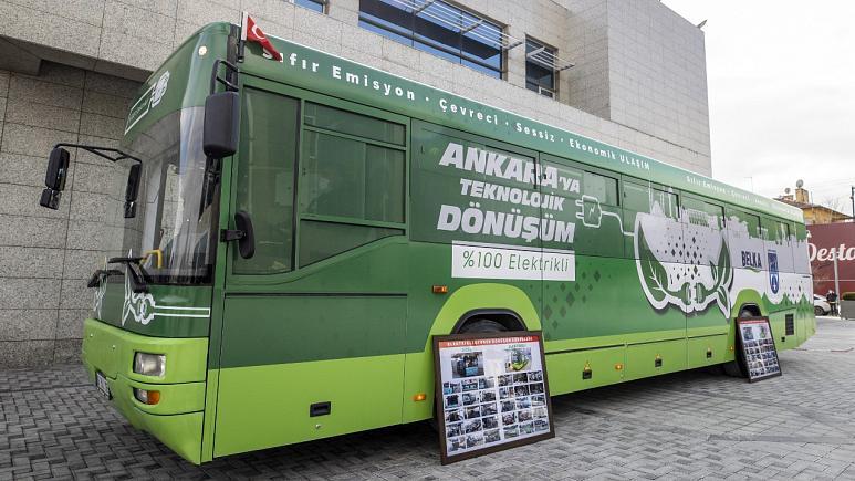 Ankara Büyükşehir Belediyesi (ABB) Kendi Kaynakları İle Bir Belediye Otobüsünü Elektrikliye Çevirdi 2