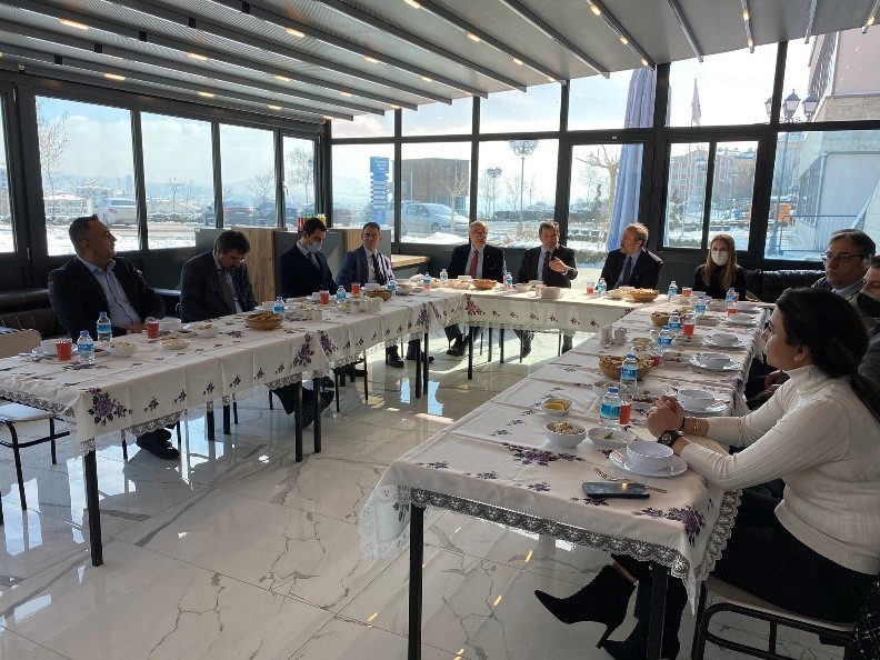 Ankara Science University and BELKA Inc. held a meeting on Technology and R&D Projects 1