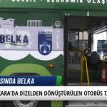 Ankara'da Dizelden Dönüştürülen Elektrikli Otobüs Tanıtıldı 3