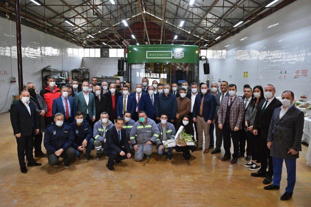 Ankara Büyükşehir Belediye Yöneticilerinin Teknoloji Merkezini Ziyareti 1