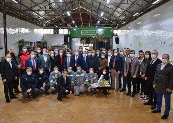 Ankara Metropolitan Municipality Managers' Visit to the Technology Center 1