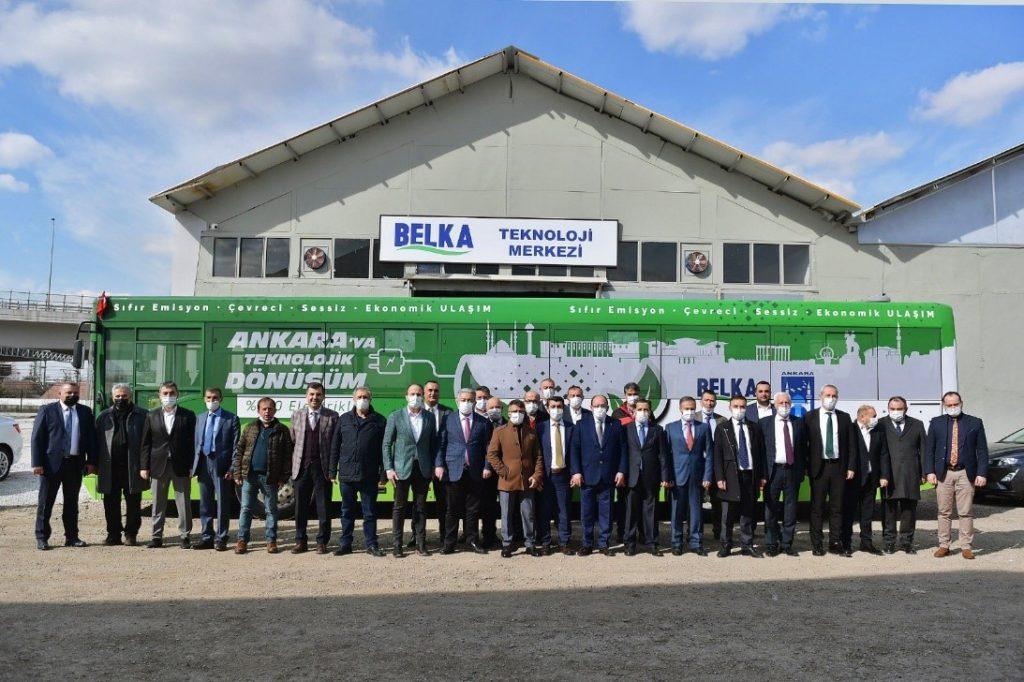 Ankara Büyükşehir Belediye Yöneticilerinin Teknoloji Merkezini Ziyareti 2