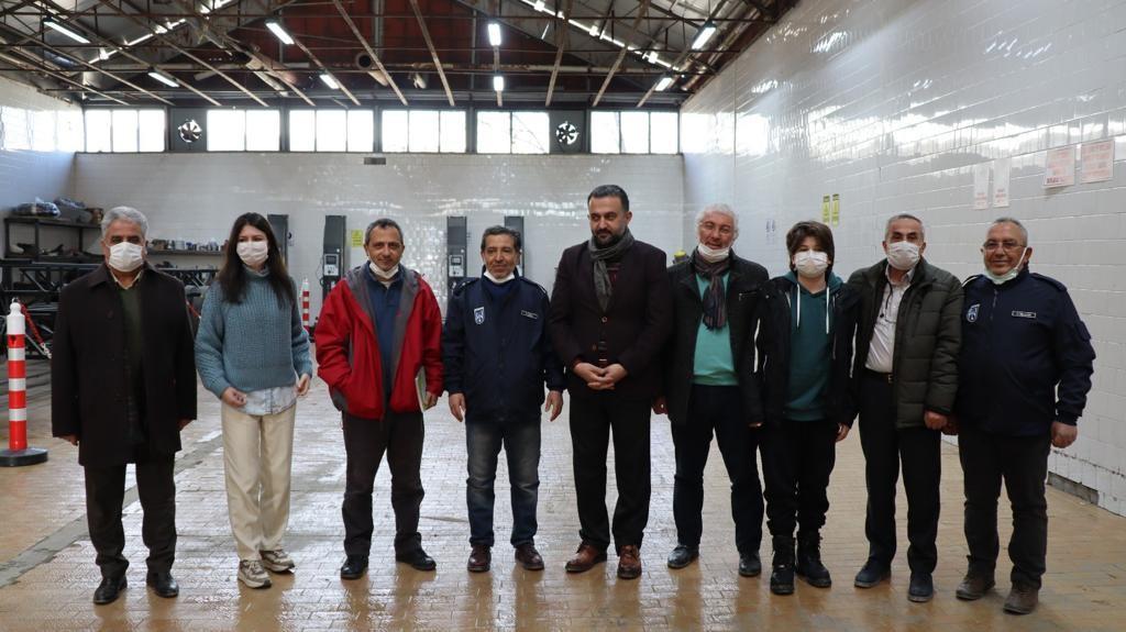 Ankara Kent Konseyi Heyetinin BELKA A.Ş. Teknoloji Merkezini Ziyareti 1