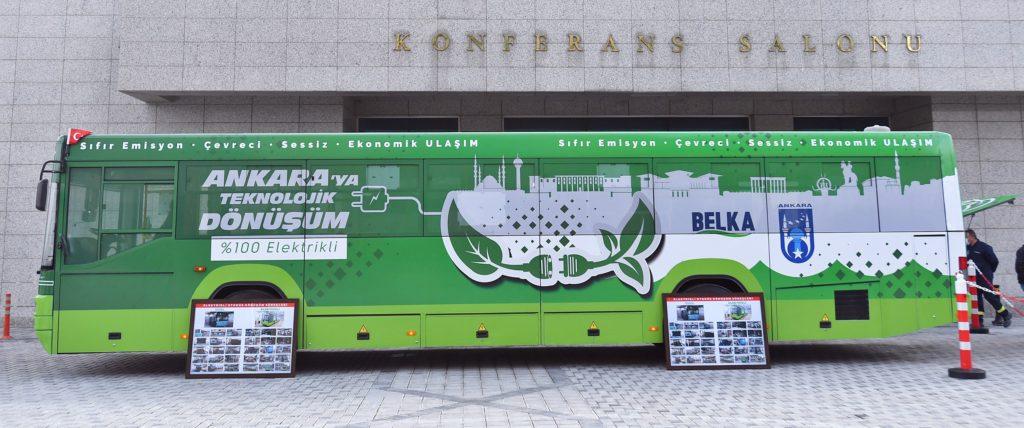 Ankara Büyükşehir Belediyesi, 23 Otobüsü Elektrikli Otobüse Dönüştürecek 2