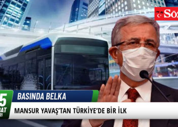 Mansur Yavaş'tan Türkiye'de Bir İlk 34