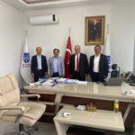 CHP İl Başkanı Sn. Ali Hikmet Akıllı ve Bşk. Yrd. Sn. Atila Ilıman ve Sn. Veli Şahin'in Şirketimizi Ziyareti 1