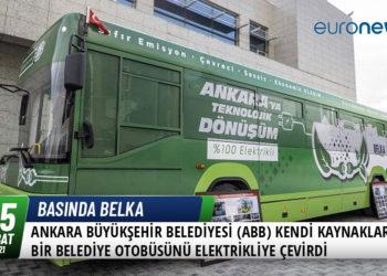 Ankara Büyükşehir Belediyesi (ABB) Kendi Kaynakları İle Bir Belediye Otobüsünü Elektrikliye Çevirdi 31