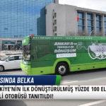 Türkiye'nin İlk Dönüştürülmüş Yüzde 100 Elektrikli Otobüsü Tanıtıldı! 3