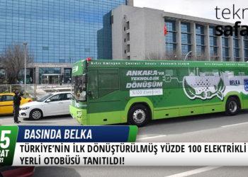 Türkiye'nin İlk Dönüştürülmüş Yüzde 100 Elektrikli Otobüsü Tanıtıldı! 22