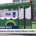 Ankara'da Dizelden Dönüştürülen Otobüs Tanıtıldı 4