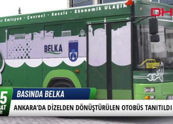 Ankara'da Dizelden Dönüştürülen Otobüs Tanıtıldı 19