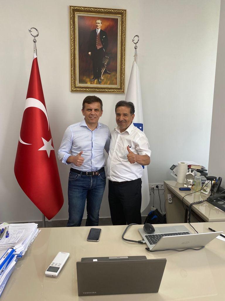 BELKA AŞ Genel Müdürümüz Sn. Dursun Çiçek ile Ukrayna Jitomir Belediye Bşk. Sn. Sergiy Sukhomlyn, Belediye Bşk. Yrd. ve teknik ekibi, Elektrikli Otobüs Dönüşüm Projesi'nin Ukrayna'daki iş birliği konusunda görüşme yaptı. 7