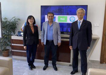 Tayvan Büyükelçiliği Taipei Ekonomi ve Kültür Misyonu Ankara Temsilciliği Direktörü, Sn. Charles Tseng ve Ekonomi Danışmanı, Sn. Annie C. Yu BELKA AŞ'yi Ziyareti 4
