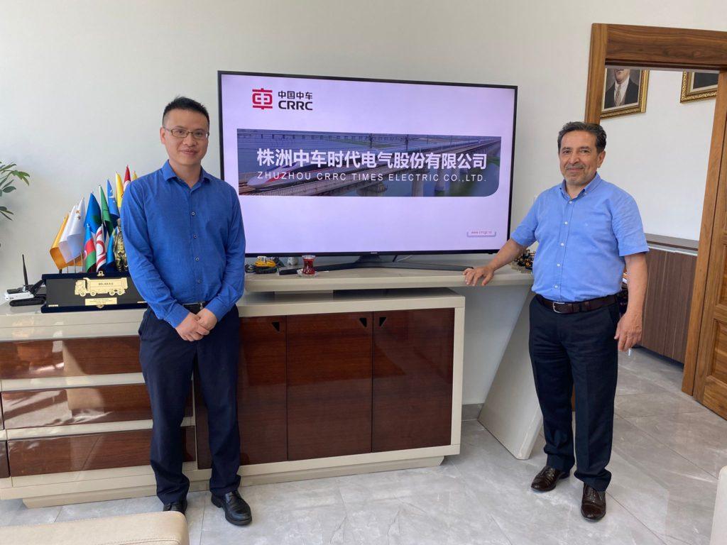 CRRC Afrika & Asya CEO'su Mr. Sheng Huang'ın Şirketimizi Ziyareti 1