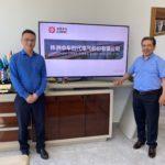 CRRC Afrika & Asya CEO'su Mr. Sheng Huang'ın Şirketimizi Ziyareti 2