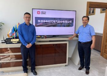 CRRC Afrika & Asya CEO'su Mr. Sheng Huang'ın Şirketimizi Ziyareti 7