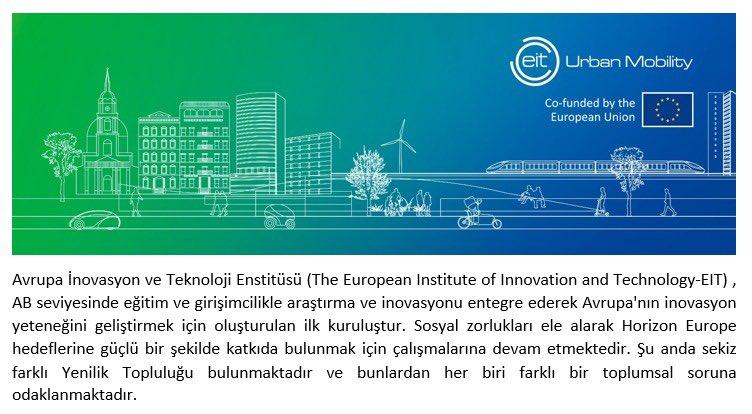 'EIT Urban Mobility' adı altında, Paris ve Barselona Belediyelerinin de desteklendiği projemiz 'Ankara Hali', pilot uygulama alanı seçildi. 2